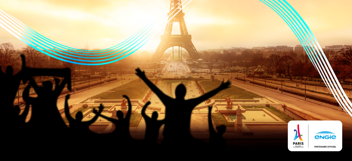 Félicitations à Paris 2024 #ShareYourEnergy !