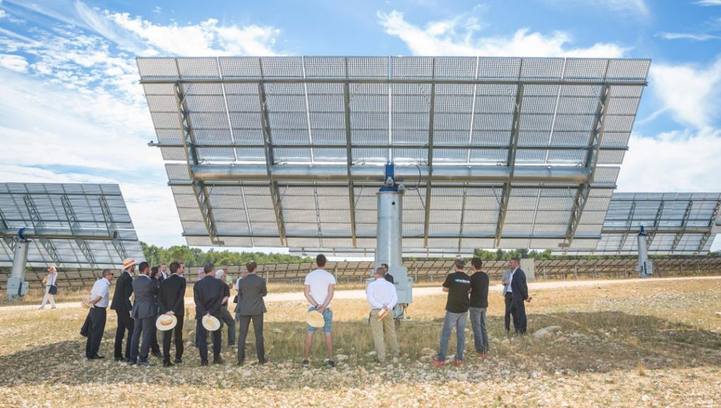 Centrale solaire du Mouruen : le photovoltaïque nouvelle génération
