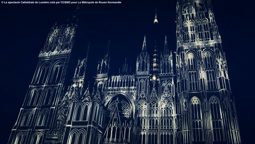 ENGIE illumine le patrimoine architectural durant tout l'été