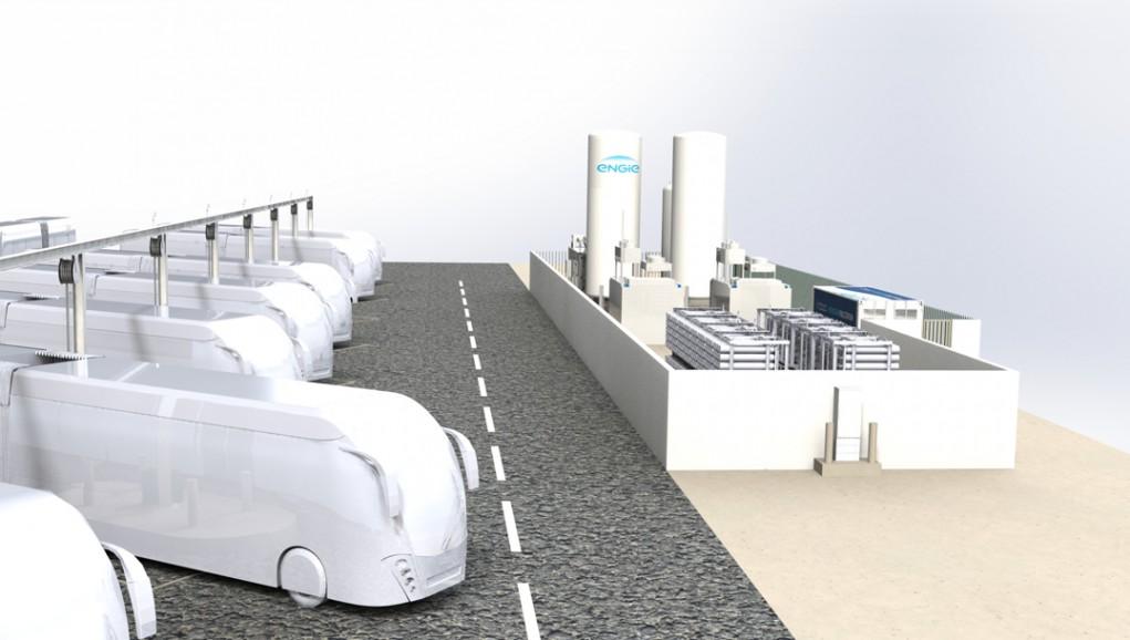 Mobilité verte : une première ligne de bus hydrogène en France