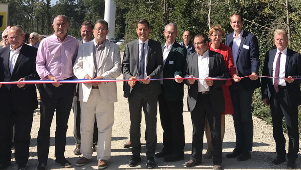 ENGIE Green inaugure deux parcs éoliens dans la Drôme