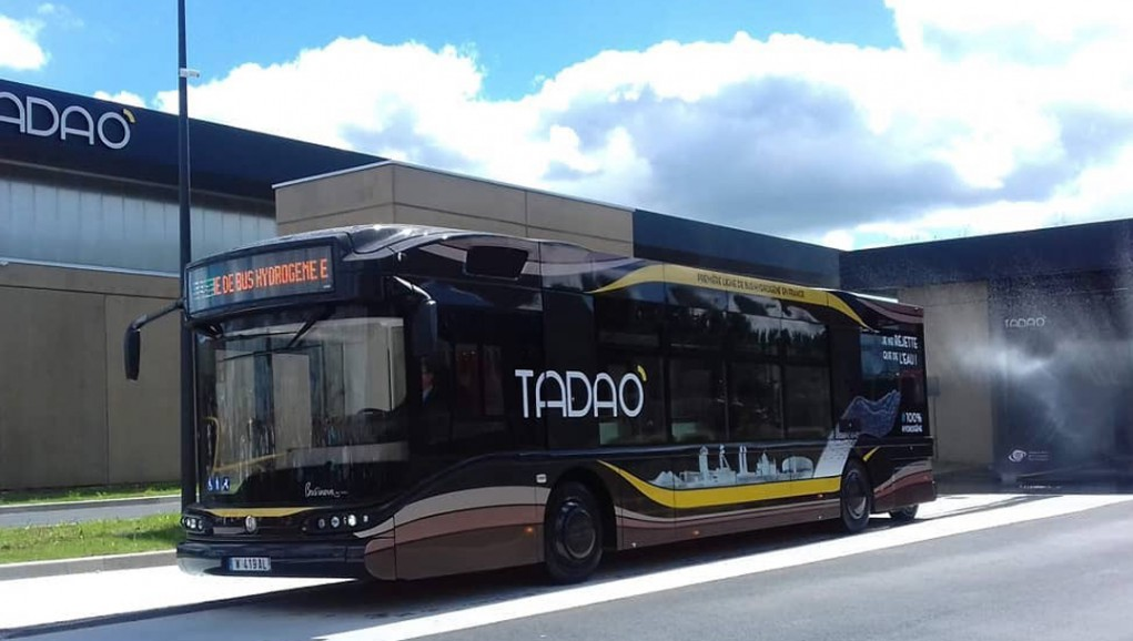 La première station hydrogène française dédiée aux bus est lancée